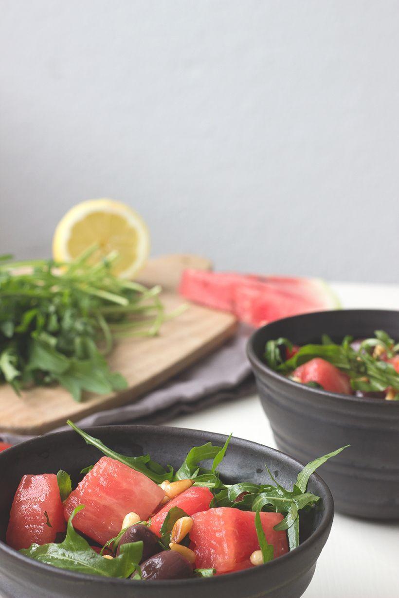 Wassermelonensalat-mit-Minze-vegan