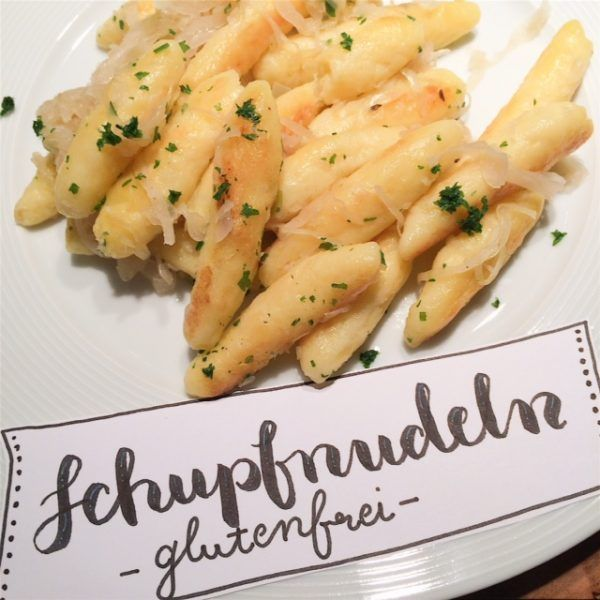 glutenfreie Schupfnudeln