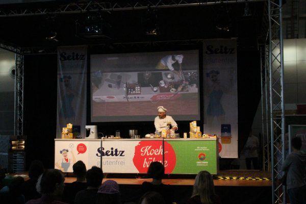 Christian Geiser auf der Seitz glutenfrei Bühne