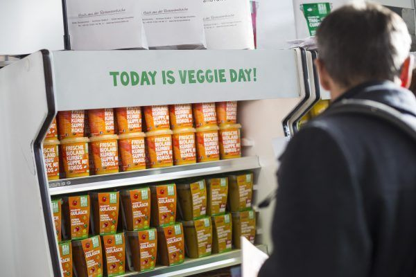 today is veggie day!
