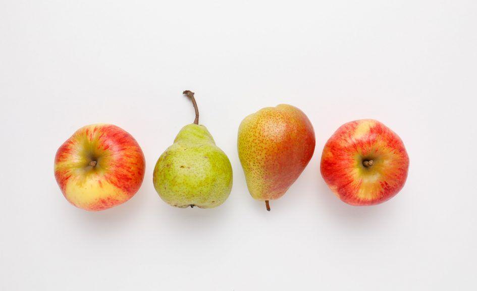 Obst ist gesund und hält dich mit Vitamin C fit