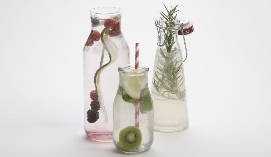 Viel Trinken und hydriert bleiben - mit unseren Tipps