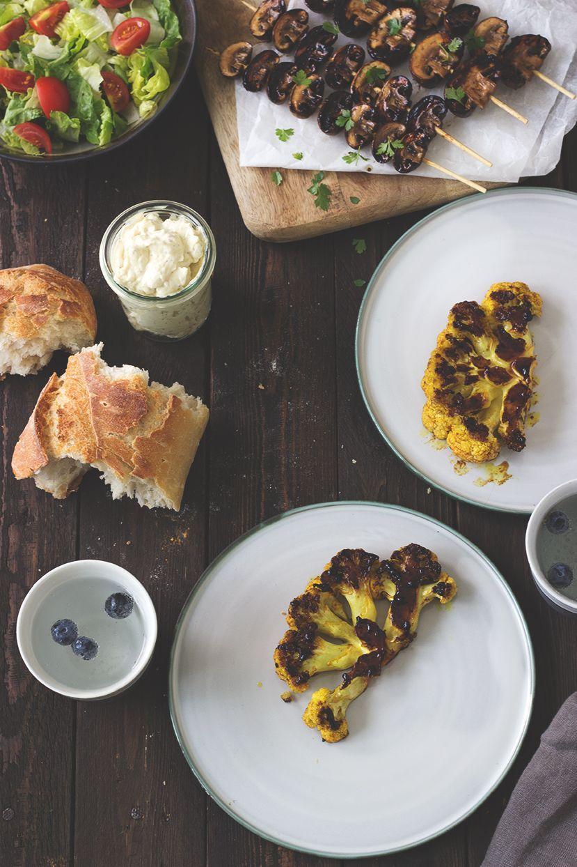 Gemüse Grillen: Rezept für würzig mariniertes Grillgemüse. Vegan und vegatrisch Grillen